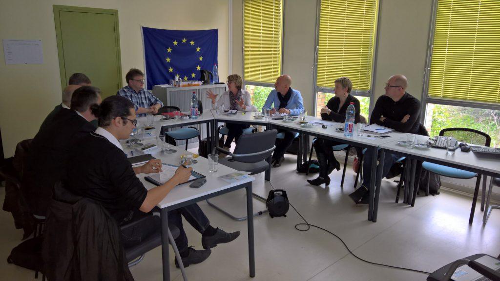 Ecopal, Conseil Régional, le Port de Dunkerque, la Communauté Urbaine de Dunkerque, la Communauté des Communes des Hauts de Flandre, la Ville de Grande-Synthe, la Direccte, la Dreal